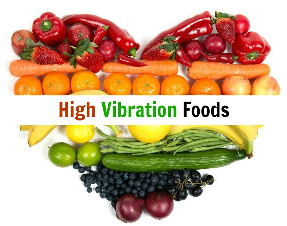 List Of High Vibrational Foods